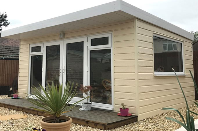 Garden Rooms and House Extensions from Finnish Sheds Galway