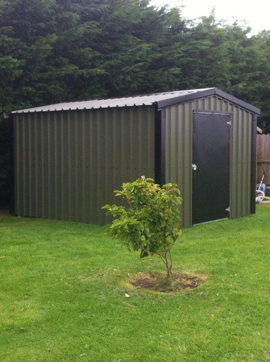 12ft x 20ft garden shed