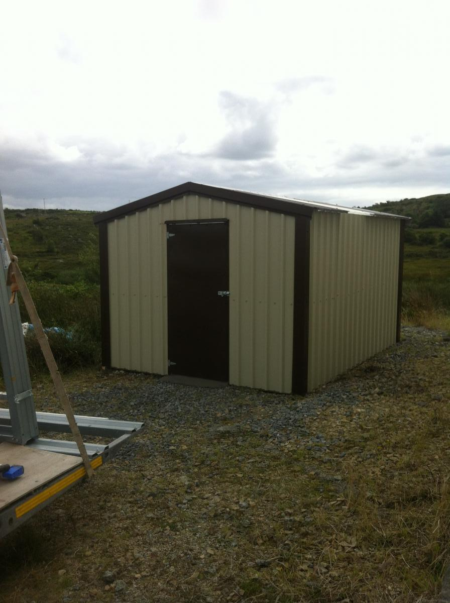 Garden Sheds From Finnish Sheds In Moylough County Galway